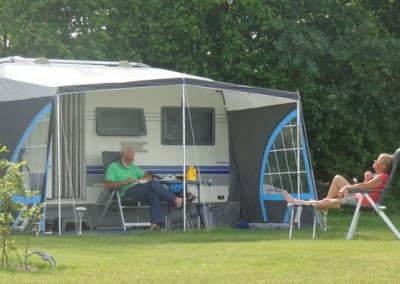 Genieten van de rust- camping De Lage Werf