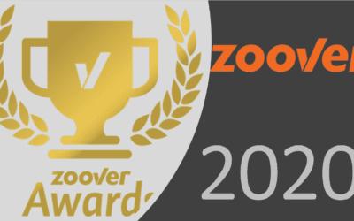 Camping De Lage Werf maakte weer kans op Gouden Zoover Award 2020.