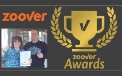 Camping De Lage Werf wint voor 4e keer op rij Gouden Zoover Award.