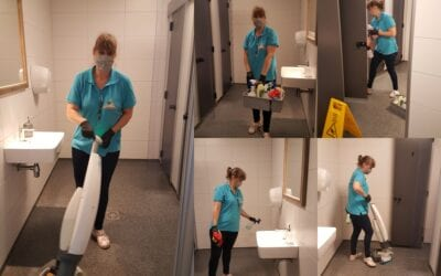 Hoe komt ons sanitair gebouw zo mooi schoon?