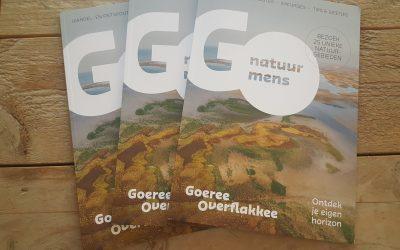 Natuurgids Goeree Overflakkee verkrijgbaar bij de receptie.