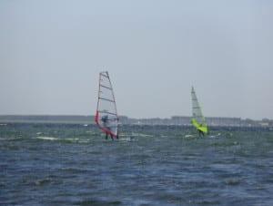 surfen op het Grevelingenmeer