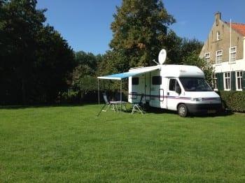 campers toegestaan