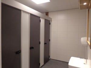 Schoon sanitair bij Camping de Lage Werf.