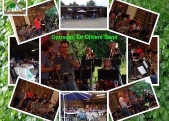 Optreden Sir Olivers Band uit Den Bommel.