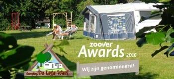 Genomineerd voor de Zoover Awards 2016.