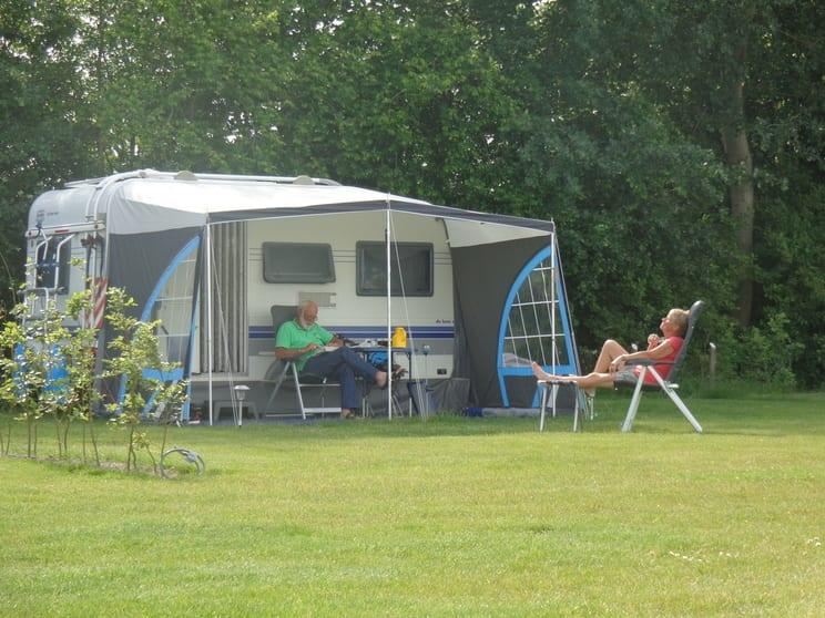 Genieten van de rust en ruimte - camping De Lage Werf