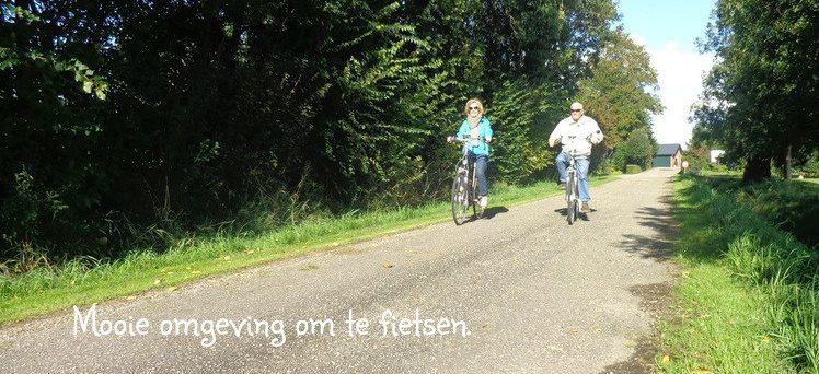 Lekker fietsen en genieten van de prachtige omgeving van Goeree Overflakkee.