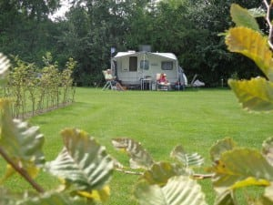 Weide met uitzicht polder Camping De Lage Werf