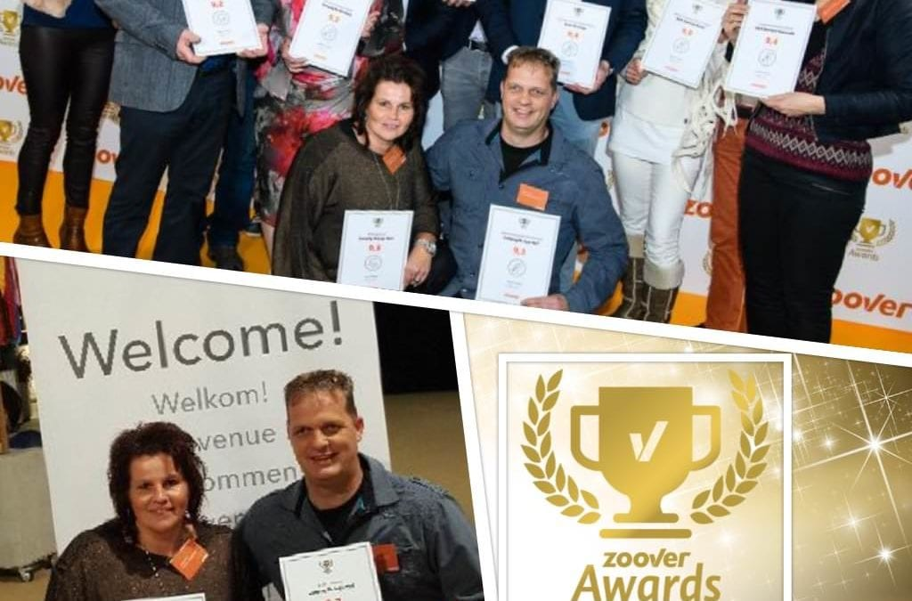 Camping De Lage Werf wint Gouden Zoover Award!
