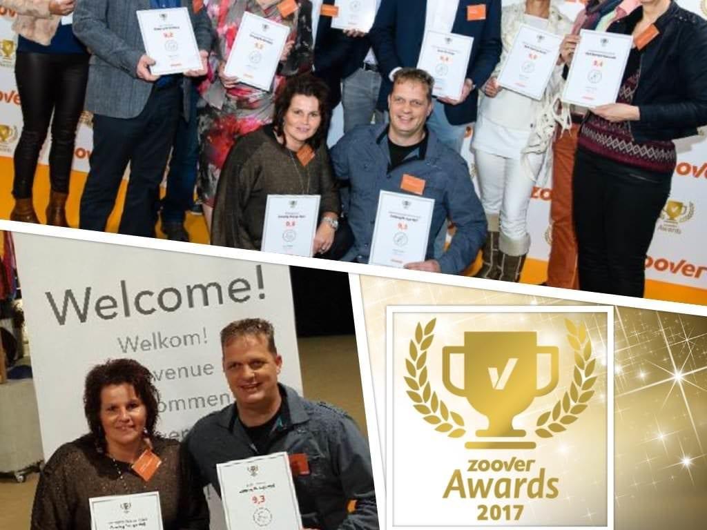 Camping de lage werf - wint gouden zoover award - nummer 8 nederland