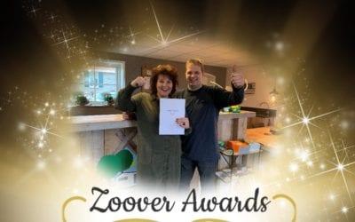 Camping De Lage Werf wint ook in 2018 de Gouden Zoover Award!