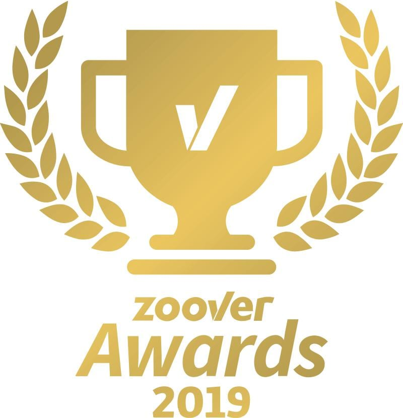 Golden Zoover Award 2019 voor Camping De Lage Werf
