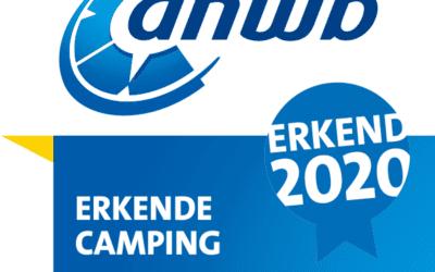 Erkende ANWB camping 2020.