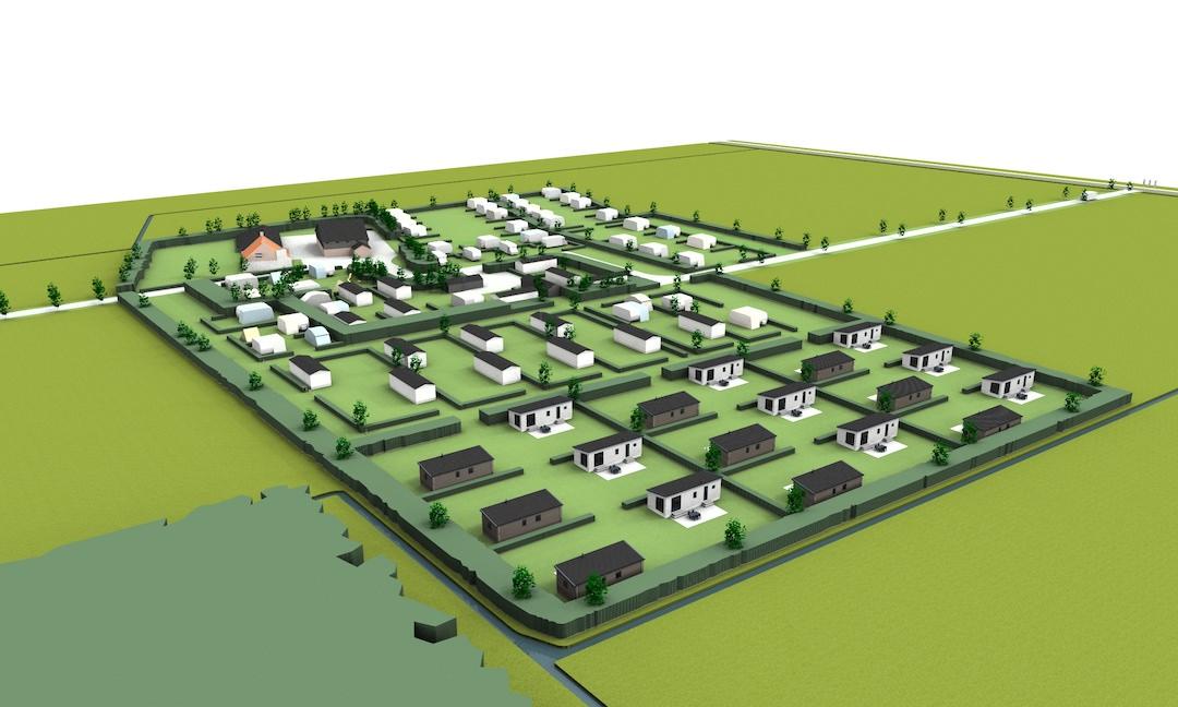 Nieuwe plaatsen binnenkort beschikbaar voor chalets.